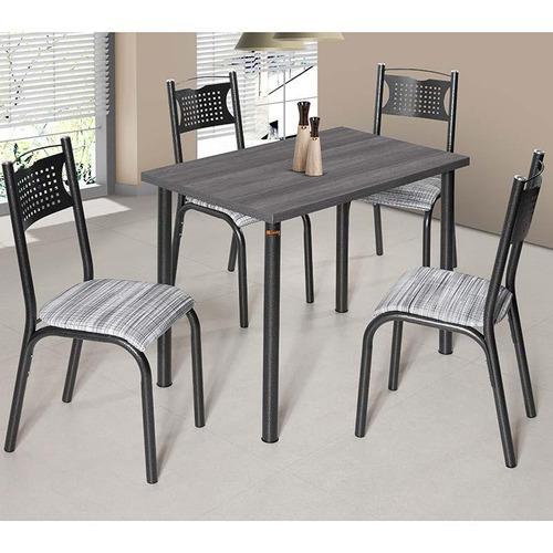 conjunto de mesa com 4 cadeiras - poeme - ciplafe