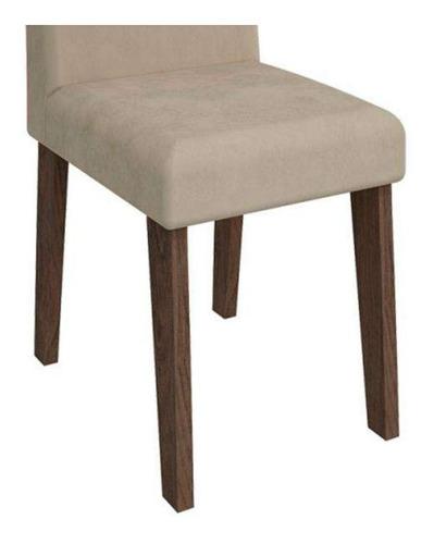 conjunto de mesa de jantar andreia com 4 cadeiras milena ...