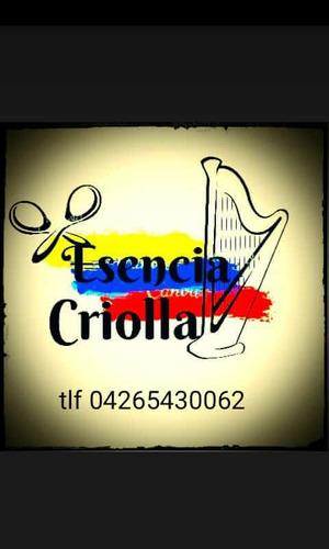 conjunto de musica llanera, show criollo,musica venezolana