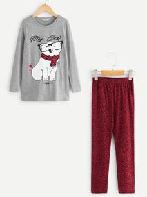 4f303c705 Conjunto Para Niña Pantalon Y Blusa - Ropa, Bolsas y Calzado de ...