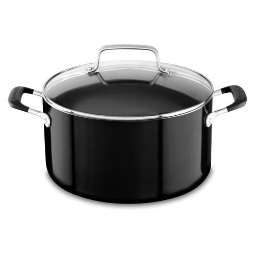 conjunto de panelas de alumínio 6 peças onyx black kitchenai