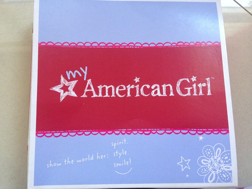 conjunto de pijama original para muñeca american girl