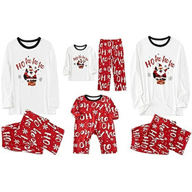Conjunto De Pijamas De Navidad A Juego Para La Familia: Bebé