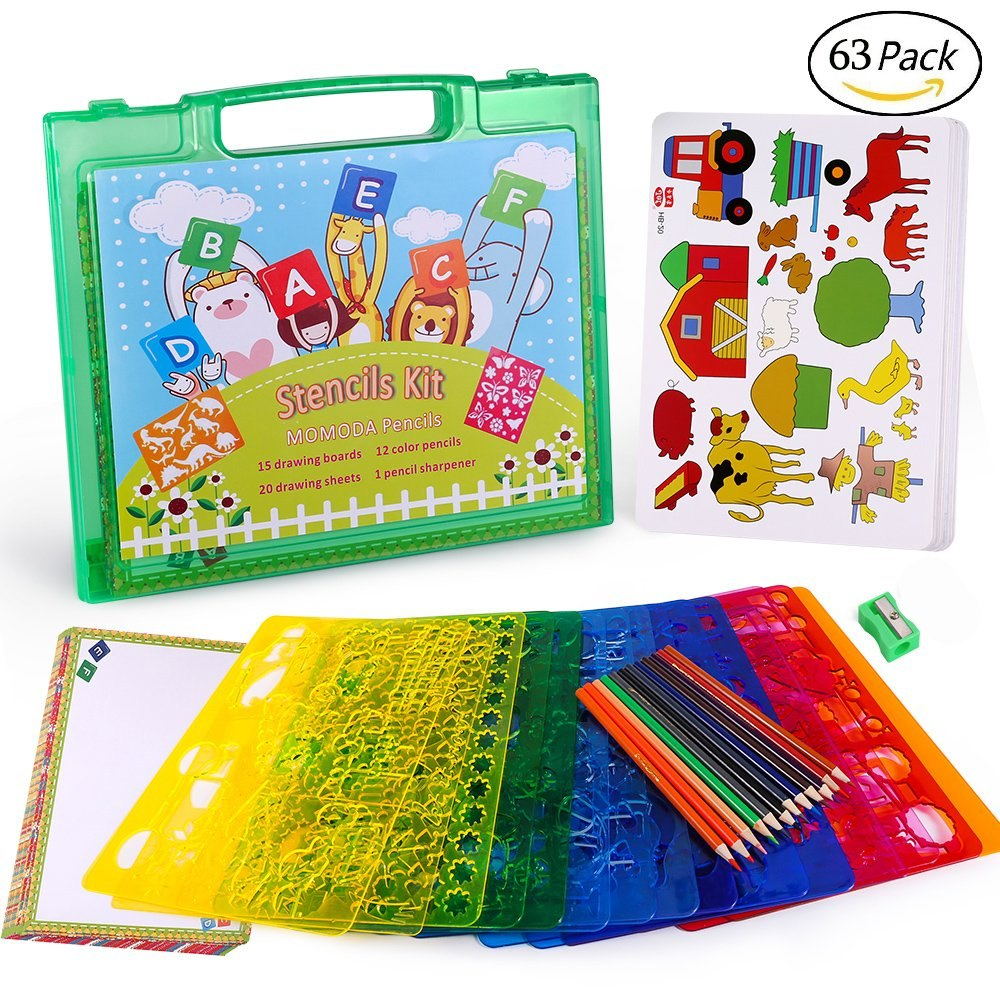 Conjunto De Plantillas De Dibujo Para Niños Kit De Crea ...