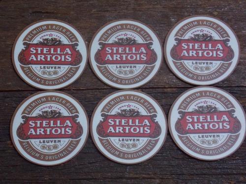 conjunto de porta copos mdf stella artois