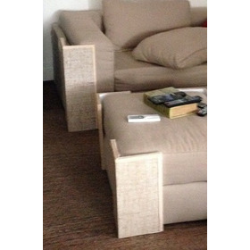 Conjunto De Protetor De Sofa E Arranhador Para Gato 4 Pç