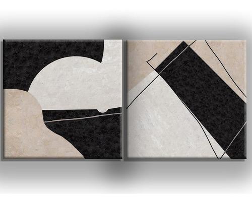 conjunto de quadros pintura tela abstrato
