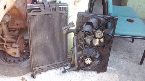 conjunto de radiador completo da audi a3 - ano: 2000/2001