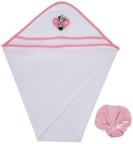 conjunto de regalo de toallas con capucha de minnie mouse