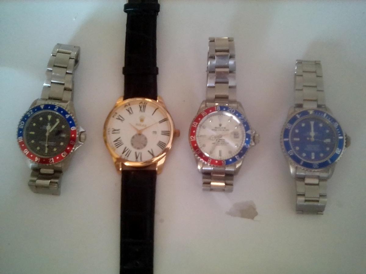 b3c577189b44 conjunto de relojes imitación rolex. Cargando zoom.