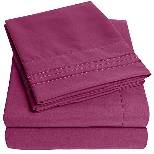 conjunto de sábanas extra suaves 1500 supreme collection, be