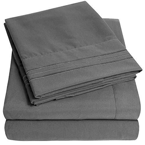 conjunto de sábanas extra suaves 1500 supreme collection, gr