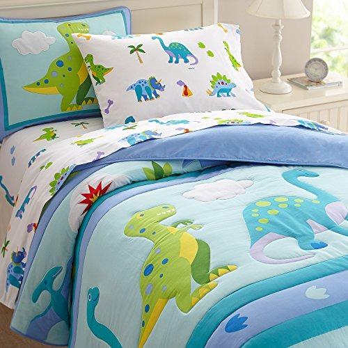 Conjunto De Sbanas Para Nios Dinosaurios Olive Kids 372299 en