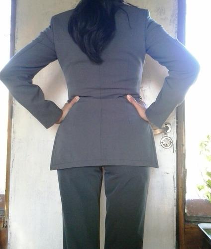 conjunto de saco y pantalón de dama versace original!