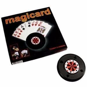 conjunto de segurador de carta de baralho contendo 04 peça