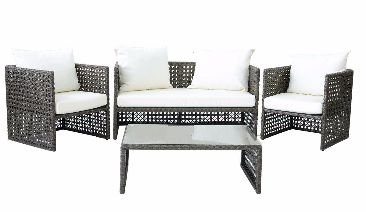 Conjunto De Sofa Moderno Para Sala Jardim Piscina Recepca R