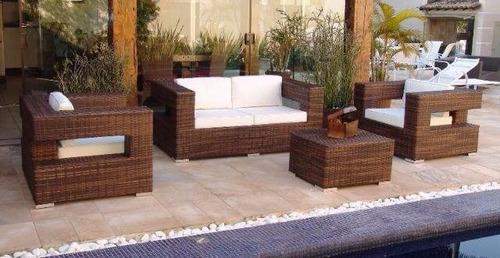 Conjunto De Sofa Top De 2 Lugares Para Area Externa - R$ 3 ...
