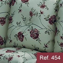 conjunto de sofás 3+1+1 lugares imbuia belini