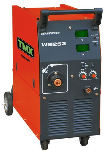 conjunto de solda mig wm 252 250a trifásico 220v - tmx