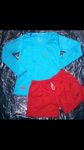 conjunto de sweater y short  para damas