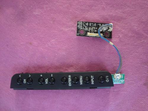 conjunto de teclado mais sensor remote lg 32ld350