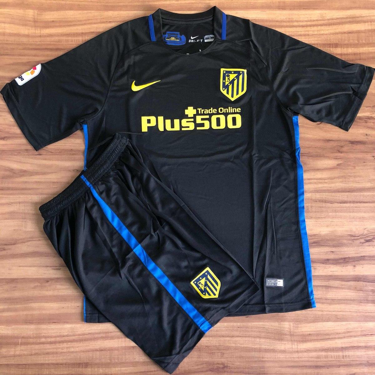 Conjunto De Times Europeus Camisa E Short adidas Nike Puma - R  129 ... dca7165aef20e