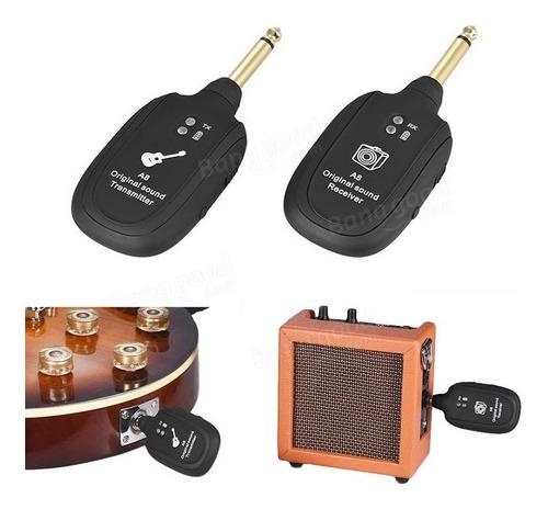conjunto de transmisión de audio inalámbrico con transmisor