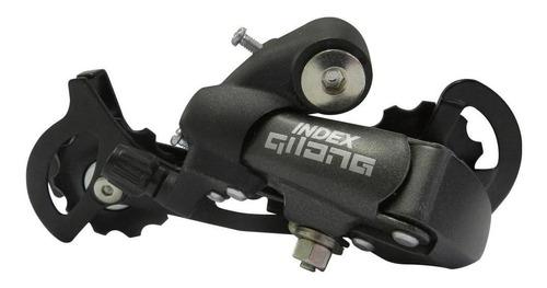conjunto de transmissão 8 velocidades - preto/prata