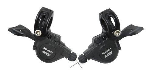conjunto de transmissão sensah mx 3x9 9 velocidades