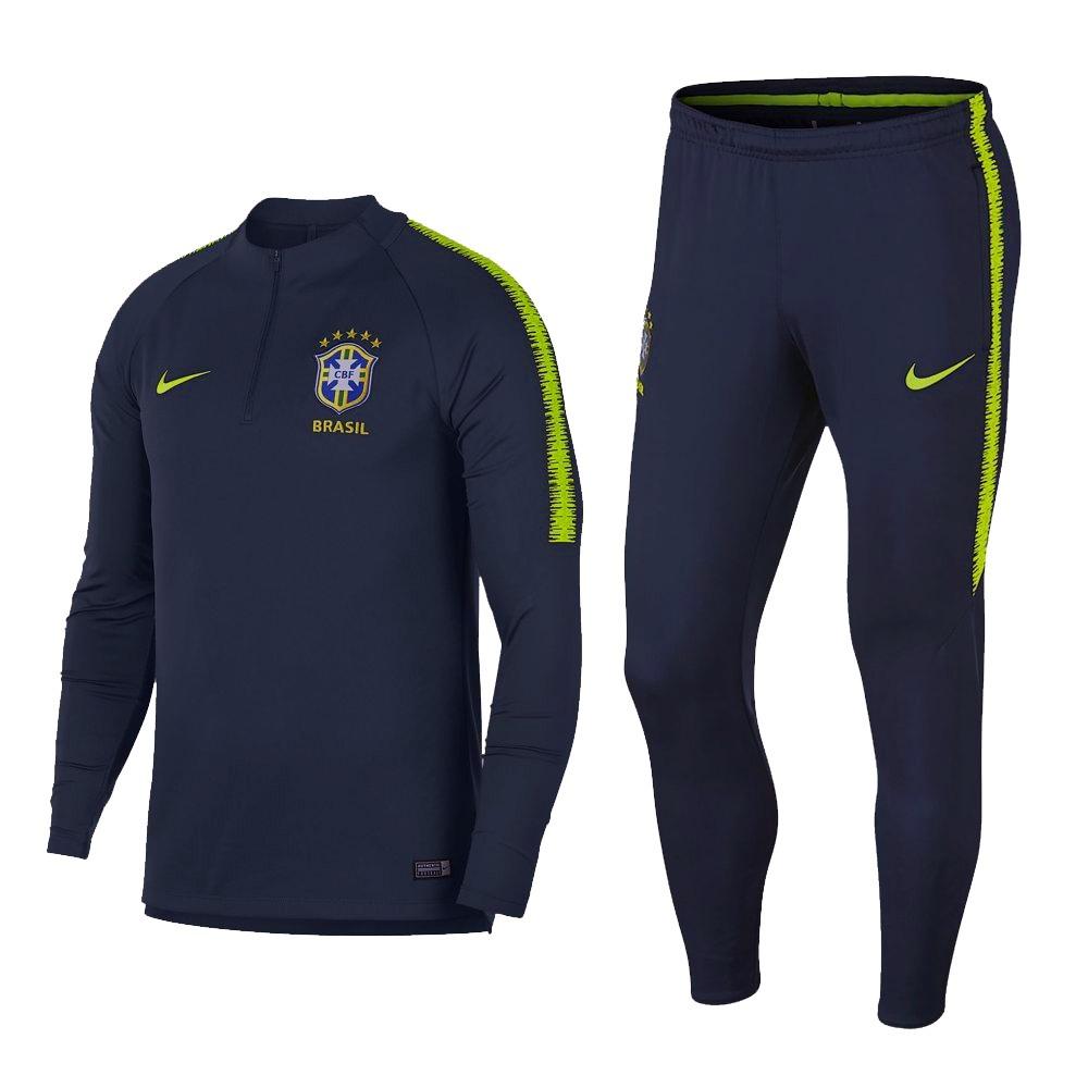 conjunto de treino seleção brasileira adulto 2018 kit. Carregando zoom. f6a7f870dcc49