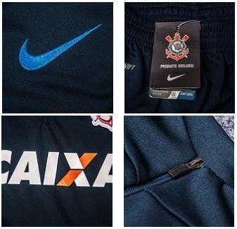 Conjunto De Treino Time Futebol Corinthians Adulto - R  299 a498663e4d2b4