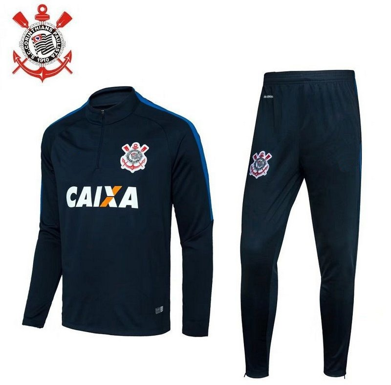 Conjunto De Treino Time Futebol Corinthians Adulto - R  299 2685fd4dce6bb
