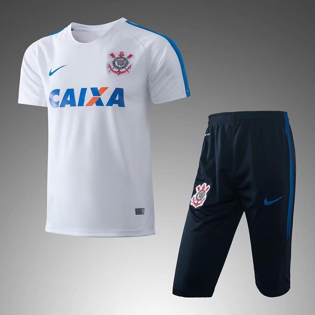 e026f2216a Conjunto De Treino Verão Corinthians Timão Camisa Shorts - R$ 139,90 em  Mercado Livre