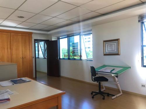 conjunto de três salas no vila da serra, melhor preço do m². - 14800