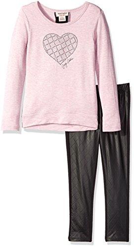 conjunto de túnica y pantalón de terry francés alto y bajo d