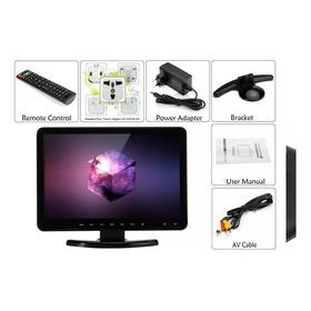 Conjunto De Tv 15,4 Pol De Alta Definição + Monitor + Dvd