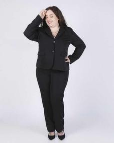 Conjunto De Vestir Blazer Pantalón Talles Grandes Reales