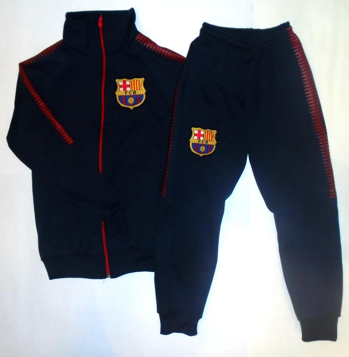 conjunto del barcelona campera y pantalon chupin para niño. Cargando zoom. fa3a538029b10