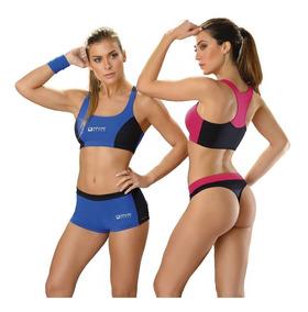 5936c2d17 Ropa Deportiva Biznet Aerobics Mujer Shorts - Conjuntos Deportivos ...