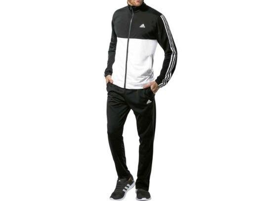 the latest b4ad2 aee79 conjunto deportivo adidas color negro blanco 168658 win18f
