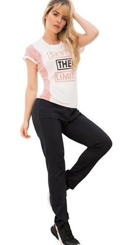 conjunto deportivo blusa amplia sudadera pantalón dama mujer