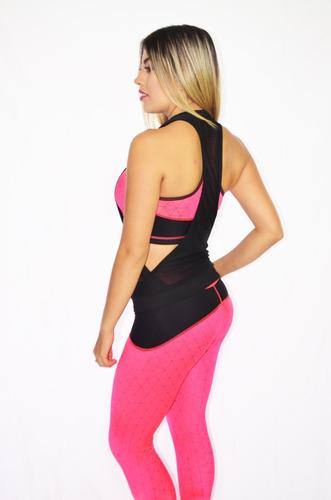 conjunto deportivo dama 3 piezas ropa femenina  / impoluz