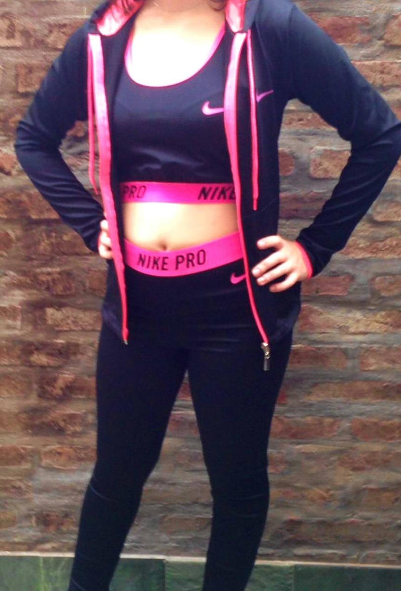 conjunto deportivo dama calza-campera-top fitness-gym. Cargando zoom. 8a75edb36c57b