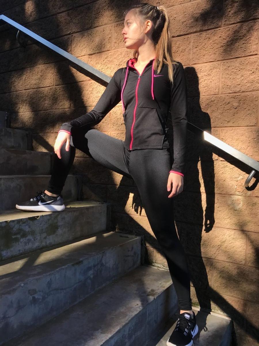 conjunto deportivo dama calza y campera fitness-gym. Cargando zoom. 4fdc1a6f545af