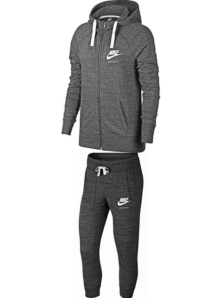 conjunto deportivo dama sudadera + pants marca nike original. Cargando zoom. 4f1cf12c048fc
