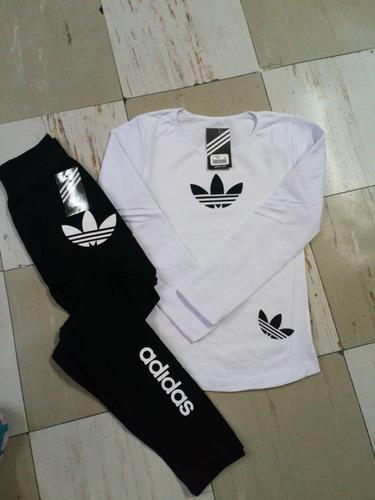 conjunto deportivo manga larga (lote 3x699) envio gratis!!