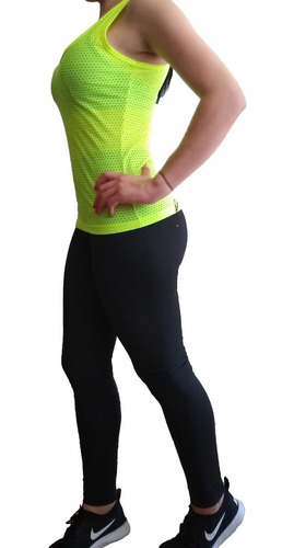 conjunto deportivo mujer leguins y blusa lycra  mujer
