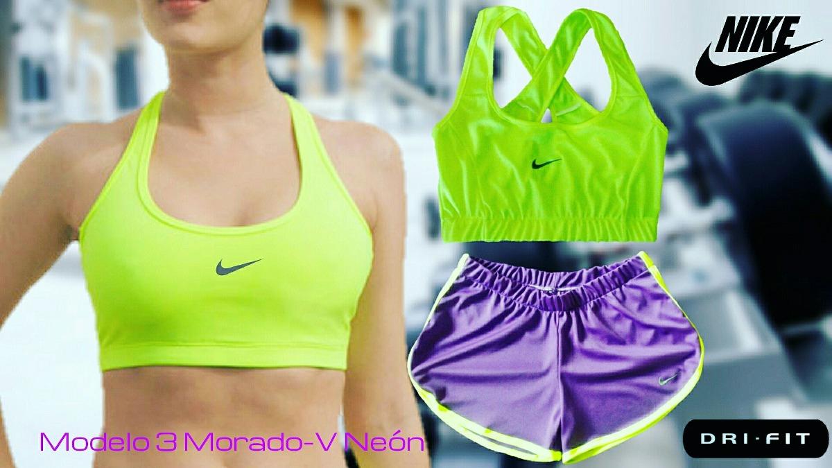 conjunto deportivo para dama niketop retenedor short gym. Cargando zoom. 54815a6d6e519
