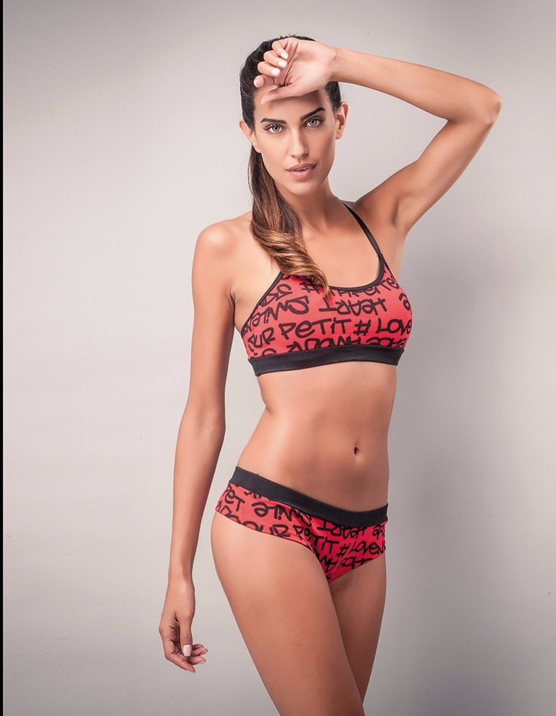 f6a93e9bd2a5 Conjunto Deportivo - Ropa Interior Femenina - Top Breteles