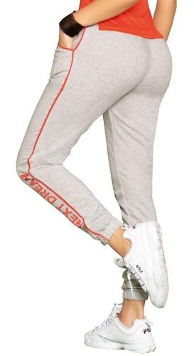 conjunto deportivo sudadera jogger  blusa cuello de mujer